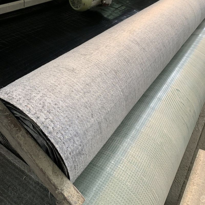 Grey Color GCCM 8mm Concrete Mat Cloth For Irrigation Channels and slope protection perminent erosion control